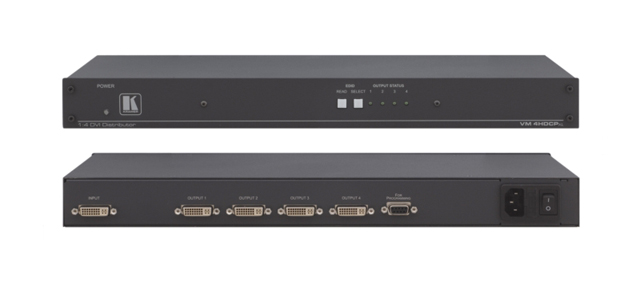 Kramer VM-4HDCPxl 1:4 DVI Distribution Amplifier