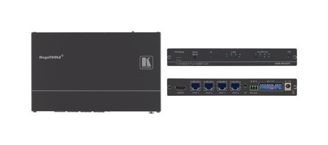 Kramer VM-4HDT 1:4 4K UHD HDMI to HDBaseT Distribution Amplifier