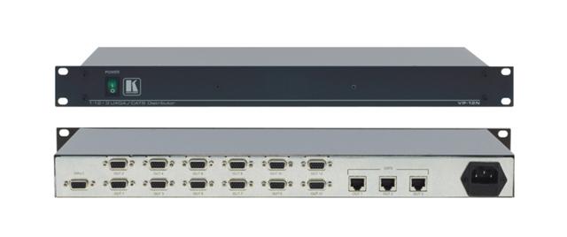 Kramer VP-12NHD 1:12 VGA Distribution Amp, 3 Twisted Pair Transmitters