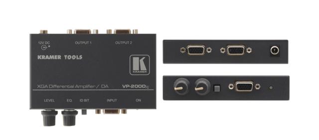 Kramer VP-200Dxl 1:2 Computer Graphics Video Differential Line Amplifier