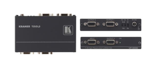 Kramer VP-300K 1:3 Computer Graphics Video Distribution Amplifier