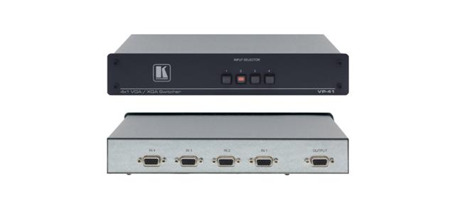 Kramer VP-41 4x1 Computer Graphics Video Mechanical VGA Switcher